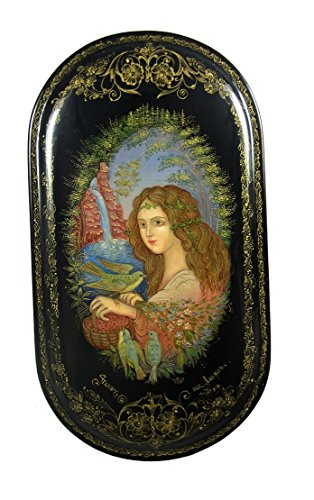 Palekh Russian Lacquer Box FOREST FAIRY #4081
