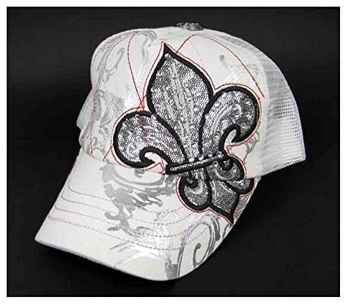 Snooki Costumes (Women's Jersey Shore Guidette Bling Hat (White))