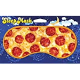 Pepperoni Pizza Design Novelty Sleeping Mask for Travel or Home