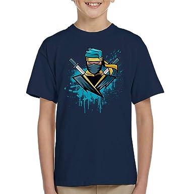 Amazon.com: Gamer Blue Ninja NinjasHyper Kids T-Shirt: Clothing