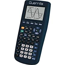 Guerrilla Silicone Case for Texas Instruments TI-83 Plus Graphing Calculator, Navy