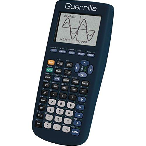 Guerrilla Silicone Case for Texas Instruments TI-83 Plus Gra