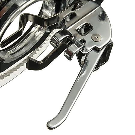 XuMarket (TM) pie prensatelas de bordado de disco accesorios de herramientas hogar máquina de coser piezas de punto de flores: Amazon.es: Hogar