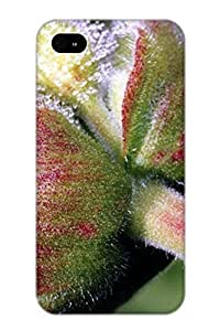 0b9ad741380 Anti-scratch Case Cover Crooningrose Protective Red Dew Pic Case For Iphone 4/4s