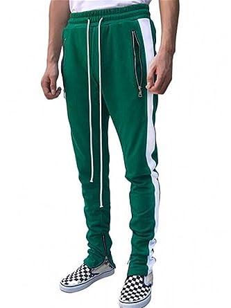 a774612fae4b5 Outgobuy Hombre Casual Hip Hop Jogger Pants Running Sports Track Pants (XL