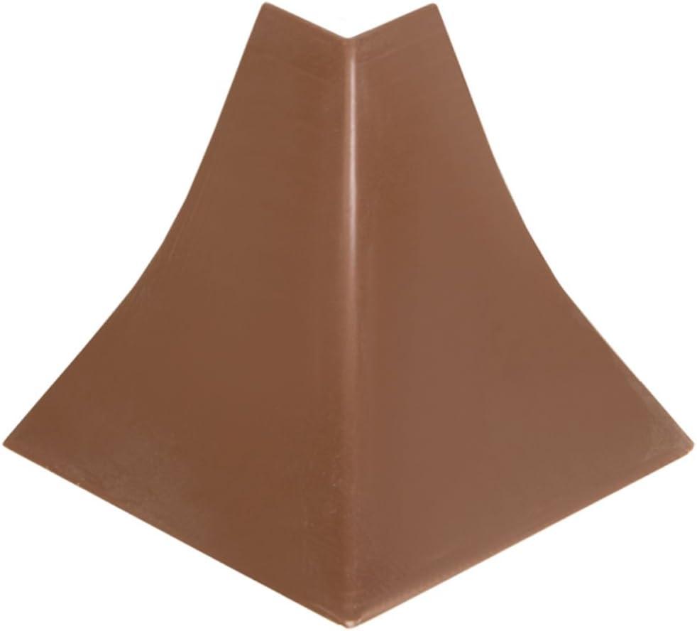 HOLZBRINK Verbinder passend zum Dekor Ihrer Abschlussleisten Granit dunkel Verbindungsst/ück PVC K/üchenabschlussleiste 23x23 mm