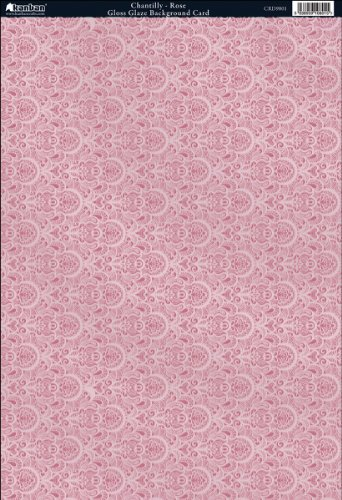 Kanban Crafts The Mitford Collection Hvy-Weight Background Card Sheet: Chantilly ()