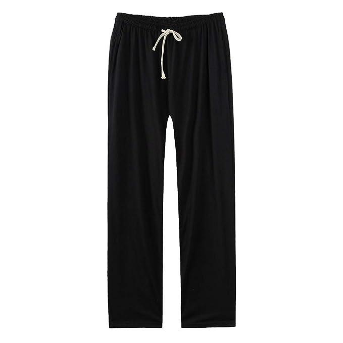 Amazon.com: Yang-yi - Pantalones de yoga para hombre, color ...