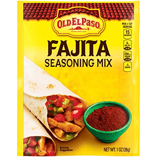 Old El Paso Fajita Seasoning 1 oz Packet ()