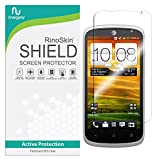 RinoGear for HTC One VX Screen Protector [Active Protection] Flexible HD Invisible Clear Shield Anti-Bubble Film