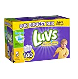Health & Personal Care : Luvs With Ultra Leakguards Diapers, Size 5, 140 Count by Luvs