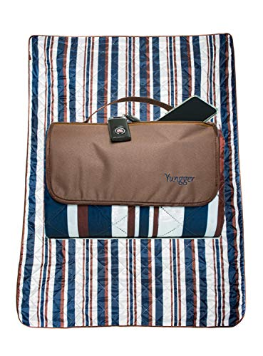 YUNGGER Extra Large Picnic Outdoor Blanket-Beach Camping-Machine Washable-Water Resistant Bottom-Multipurpose for Family and Babies,Grass Sand Festivals Concerts,Tailgate Sports Baseball Soccer,Dogs
