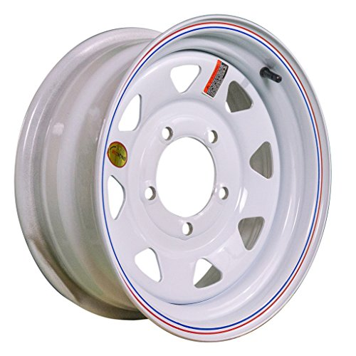 Arcwheel White Spoke Steel Trailer Wheel - 15