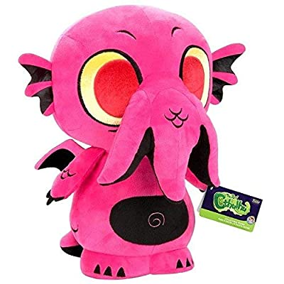 "SuperCute Plush: 12"" The Real Cthulhu Goth Pink Exclusive Toys R Us: Toys & Games"