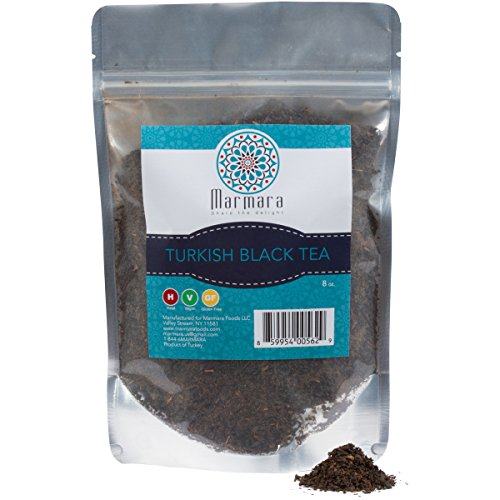 Marmara authentic loose Turkish Black Tea 8 ounce