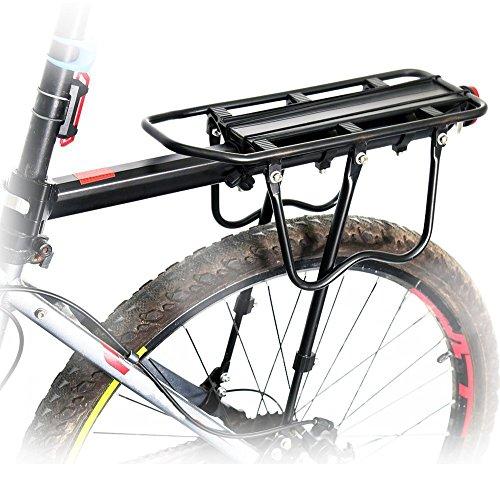 Bike Radfahren Sport hinten Carrier Rack Seat Fahrrad Bremse,/V-Brakes Cargo Regal