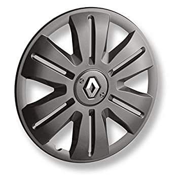 Secure Fregate Hubcap 15 Inch Graphite with Renault Logo Original: Amazon.co.uk: Car & Motorbike
