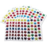 Kids B Crafty Lot de 700 étoiles colorées