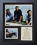 Legends Never Die Jaws Framed Photo Collage, 11 by 14-Inch