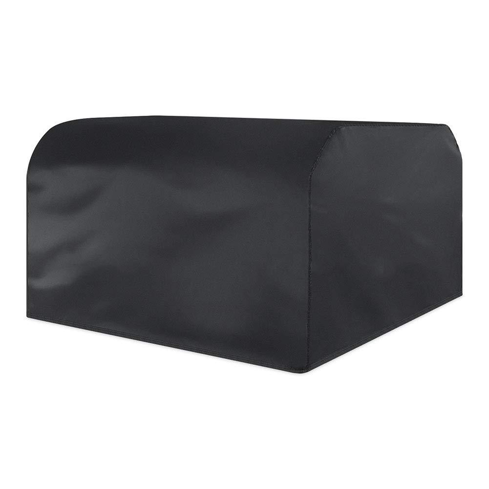 Copertura mobili da Giardino Esterna Grande Impermeabile in Poliestere Protezione UV Impermeabile, Nero (Dimensioni   250x250x90cm)
