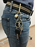 Joyce Lindberg Brass U Hook Keychain Gold Set of 3