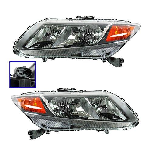 Honda Civic Lh Headlamp - 4