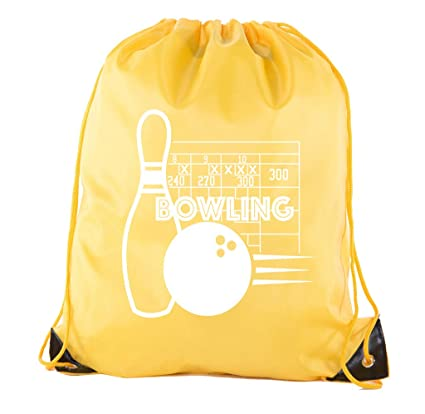 70d3864bb38 Amazon.com: Mato & Hash Drawstring Bowling Bag | Bowling Cinch Bags for  Leagues and Parties!: Clothing