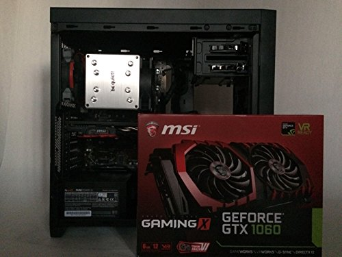 Custom PC Silent High Perfomance with GTX 1060 6G and MSI z270