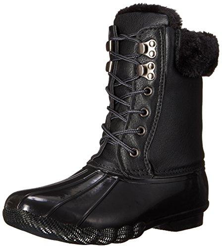 (Steve Madden Women's Tstorm Winter Boot, Black Multi, 6 M US)