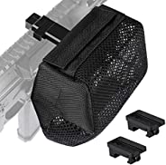 Feyachi Brass Catcher Heat Resistant Thickened Nylon Cartridge Casing Shell Catcher Net for Weapon with Picati