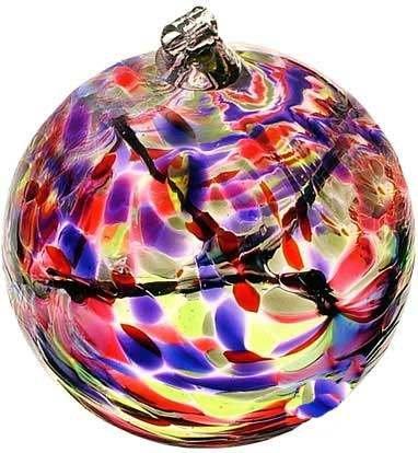 December Birthday Wish Birthstone Hanging Witch Ball Ornament 6