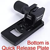 CNC Precisely Machined Metal Replacement Base Foot Stand Adapter for Nikon AF-S 70-200mm f/2.8E FL ED VR Lens Tripod Mount -Bottom is Camera Quick Release Plate Feature