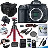 Canon EOS 7D Mark II Digital SLR Camera (Body Only) + Deal-Expo Accessories Bundle