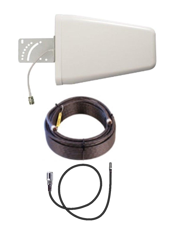 10dB Yagi LTE Antenna Kit w/100ft Coax Verizon Novatel Jetpack MiFi 7730L