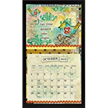 Lang Perfect Timing - Lang Contemporary Black Calendar Frame, 15 x 25.25 Inches (1016013)