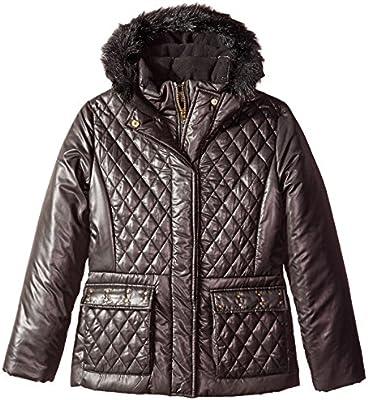 Rothschild Girls Puffer Coat With Belt