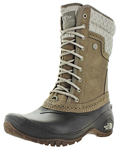 North Face Femmes Tall Botte D'hiver Gris Shellista Ii Toile The TqwdCq