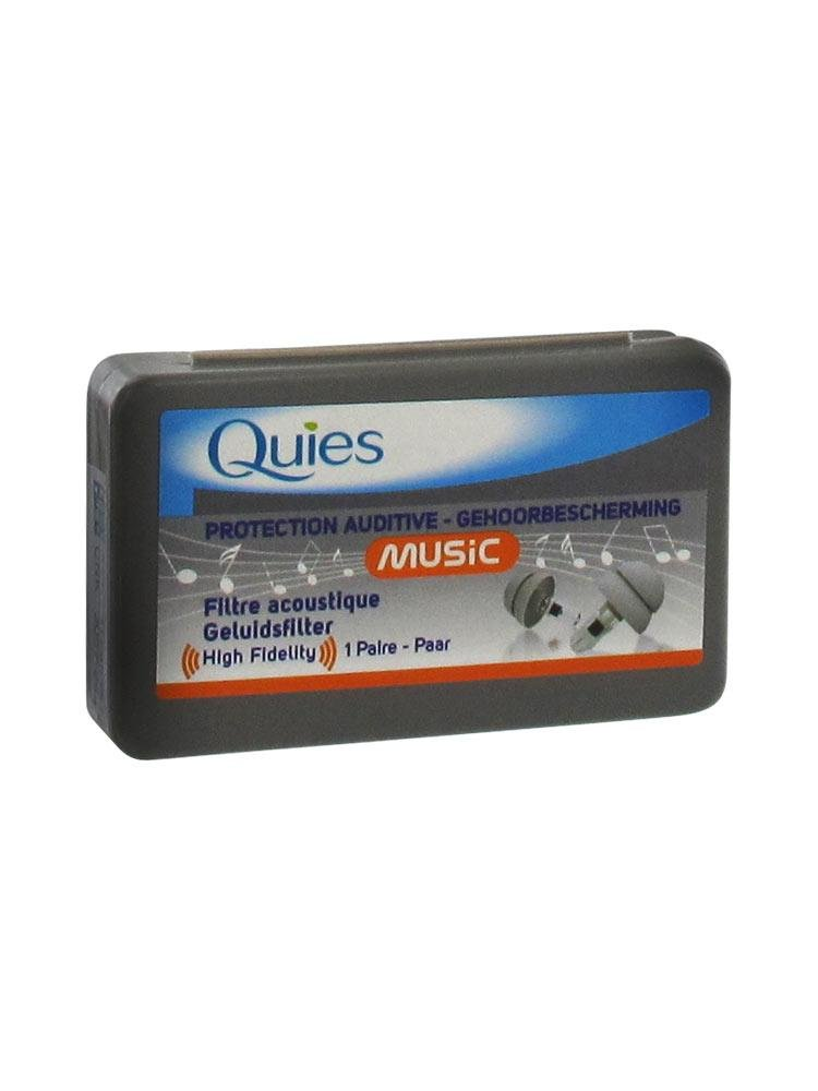 quies - protections auditives music - 1 paire 4129535