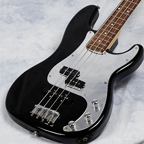 Squier by Fender/BLACK&CHROME STD PB SPL Black&Chrome B07FN9SVXK