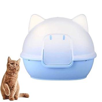FXQIN Caja De Arena para Gatos Grande Aseo para Mascotas ...