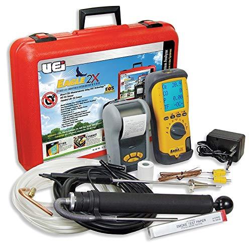 Uei Test Instruments Portable Combustion Analyzer Kit, Oil - C155OILKIT ()