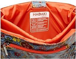 Hadaki Multitasker Pod Laptop Messenger Bag,Floral Swirl,one size