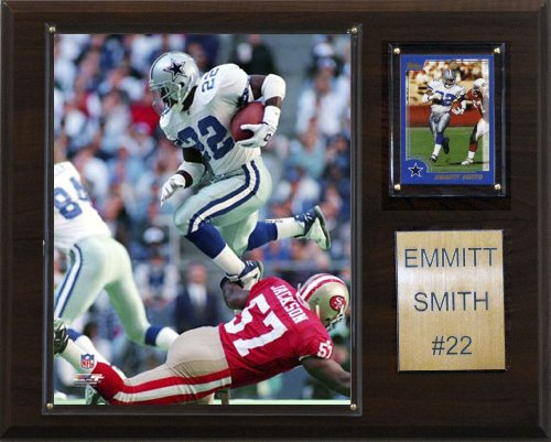 NFL Emmitt Smith Dallas Cowboys Player Plaque