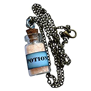 UMBRELLALABORATORY Potion Fairy Glow in The Dark Necklace Bottle