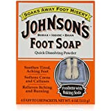 Johnson's Foot Soap 4-Count (3-Pack)4 oz (113 g)
