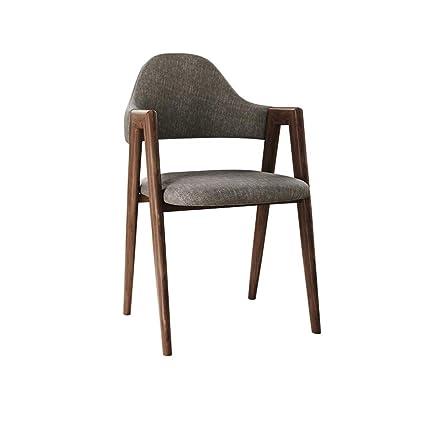 Café Furniture Modern Minimalist Dining Chair Net Red Wood Stool Backrest Dining Chair Desk Chair