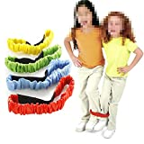 Ireav 8PCS-PACK Children Two People Three legged Ropes Tied To The Foot Running Race Sports Game Children Outdoor Toys Kid Cooperation Training