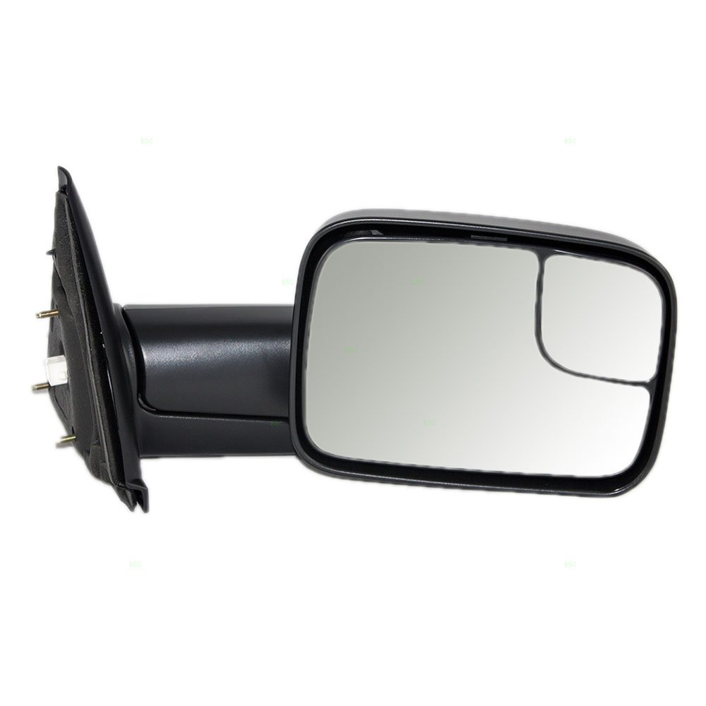 Passengers Power Side Trailer Tow Flip-Up Mirror Heated 7x10 Replacement for Dodge Pickup Truck 55077444AO