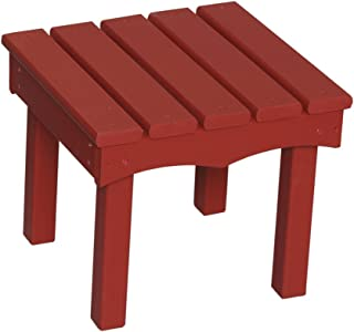 product image for Little Colorado Child's Adirondack End Table- Red