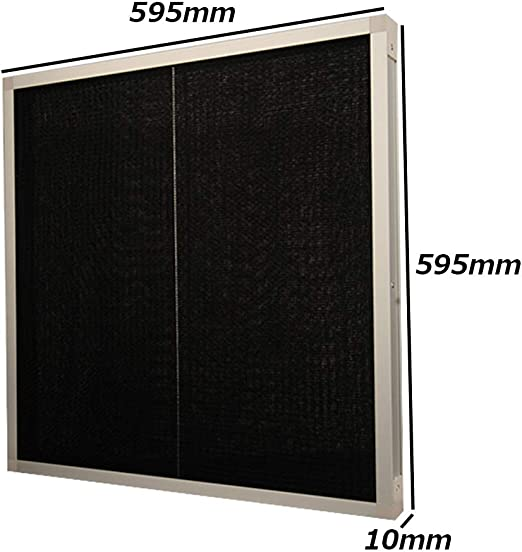 Hardware Accessories Filtro de Aire Acondicionado, La aleación de Aluminio de Malla de Nylon Industrial se Puede Limpiar Preliminar Filtro, 595 × 595 × 10mm: Amazon.es: Hogar
